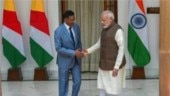Modi holds talks with Seychelles President
