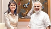 Nikki Haley in India to boost Indo-US ties