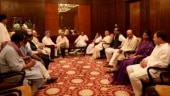 Iftar politics: Rahul breaks fast with Pranab and other leaders