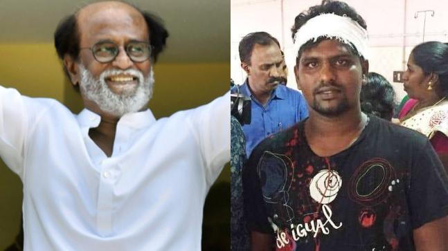 Sterlite Protester threatened by Rajini fans!