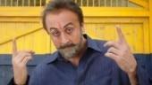 Sanju Movie Review: Ranbir Kapoor in a still from the film.