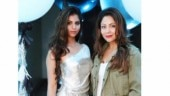 Suhana in this blingy dress is shining like a star with mom Gauri by her side