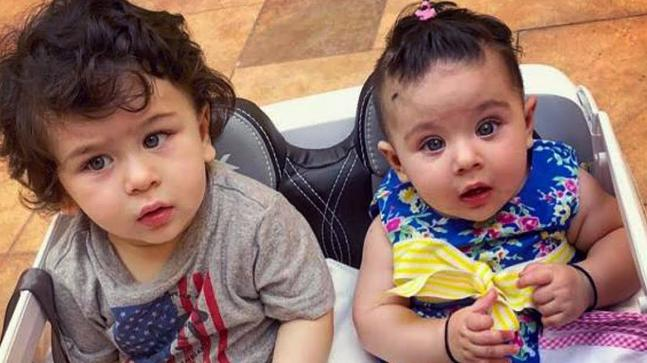 Taimur Ali Khan and Inaaya Naumi Kemmu
