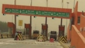 Now, a toll plaza in Uttar Pradesh painted in saffron colour