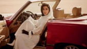 A magazine cover is receiving flak for featuring a Saudi Arabian princess at the driver's seat.