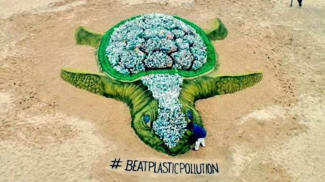 The World Environment Day 2018 theme is Beat Plastic Pollution