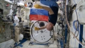 Soccer in space! Watch these astronauts play gravity-defying football with the official FIFA World Cup 2018 ball
