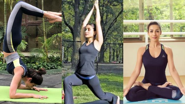 International Yoga Day: Bollywood celebs show off poses