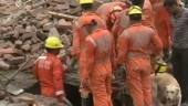 2 dead in Ghaziabad building collapse, rescue operations continue