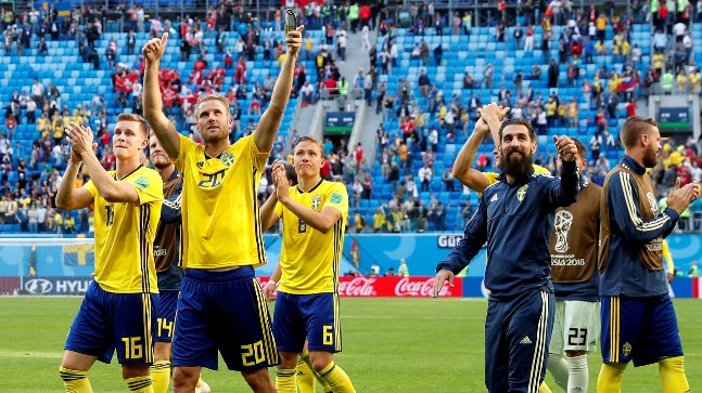 7c510efab28 Sweden to face England in the FIFA World Cup 2018 quarter-finals (Reuters  Photo