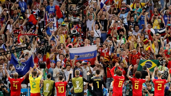 France and Belgium in historic World Cup semi-final: Stats