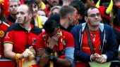 World Cup 2018: Scenes of despair in Belgium, jubilation in Paris