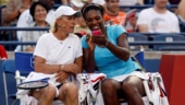 File Photo: Martina Navratilova with Serena Williams (Reuters Photo)