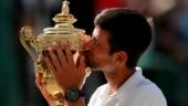 Watch Novak Djokovic meets British Royalty after Wimbledon triumph