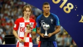 2018 FIFA World Cup, France vs Croatia, Luka Modric, Kylian Mbappe