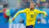 Emotional Emil Forsberg proud of Sweden's achievement at World Cup 2018