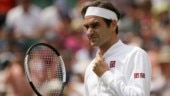 Watch: Roger Federer shows off his cricketing skills in Wimbledon