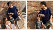 Suhana, AbRam and Aryan on their Italian vacation make for a picture-perfect family