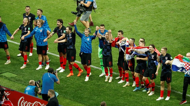 2018 FIFA World Cup: Croatia, who ranked 20th in the world, made their first-ever final. (Reuters Photo)