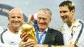 France win World Cup 2018: Coach Didier Deschamps says it is 'marvellous'