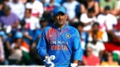 MS Dhoni scored 37 runs off 59 deliveries in the second ODI between India and England at Lord's. (AP Photo)
