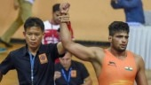 Sajan wins gold on day 1 of Junior Asian Wrestling Championship bringing India's medal tally to 4