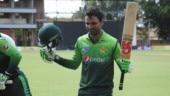 Zimbabwe vs Pakistan, 5th ODI: Fakhar Zaman reached 1000 runs in just his 18th ODI innings (Zimbabwe Cricket Twitter Photo)