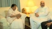 Sampark for Samarthan: Amit Shah meets Lata Mangeshkar in Mumbai