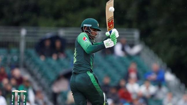Fakhar Zaman scored 61 runs in the first match of T20I tri series against Zimbabwe. (Photo - getty)
