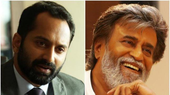 Fahadh Faasil and Rajinikanth