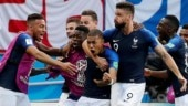 France face Croatia in World Cup 2018 final