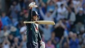 Watch Joe Root's bat drop celebration after England beat India in ODI series