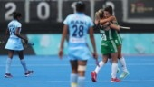 Women's Hockey World Cup 2018: Anna O'Flanagan scored the only goal as Ireland beat India 1-0. (Getty Images)