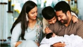 Jr NTR shares cute family photo to reveal son's name