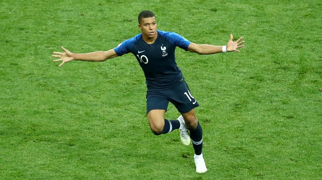 c583e2369 Kylian Mbappe played a crucial role in France s 2018 FIFA World Cup  victory. (Reuters