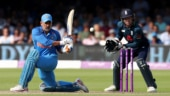 MS Dhoni was booed at by the Lord's crowd for playing a sluggish innings in the second ODI. (Reuters Photo)