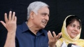 Mufti Mohammad Sayeed and Mehbooba Mufti