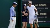 Wimbledon 2018: Ball girl hit by 217-kmph serve, consoled by players