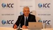 ICC chairman Shashank Manohar thanks Dave Richardson for his contribution