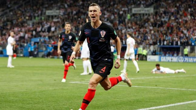 976360475ab World Cup 2018  Ivan Perisic cancelled out England s lead in the 68th  minute for Croatia