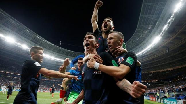 2018 FIFA World Cup: Croatia defeated England to book their place in the final against France (Reuters Photo)