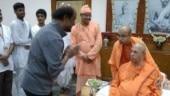 Superstar Rajinikanth made a surprise visit to Belur Math