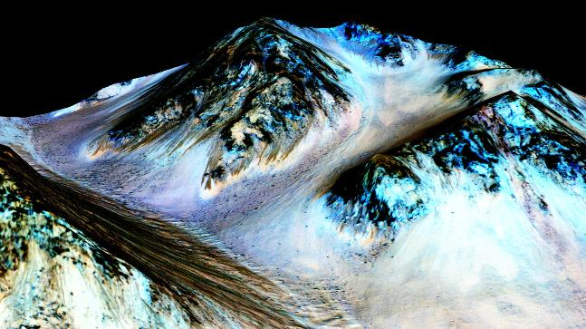 Life on Mars a possibility after discovery of first-ever liquid water lake