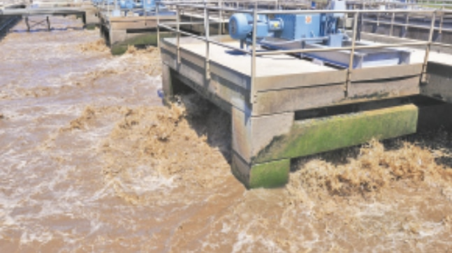 Arvind Kejriwal, treated sewage water