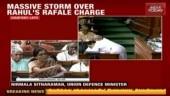 Nirmala Sitharaman refutes Rahul Gandhi's claim on Rafale deal