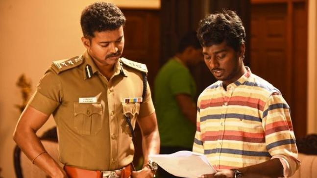 Image result for atlee with vijay