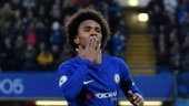 Willian says he's happy at Chelsea amidst transfer rumours