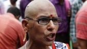 Women teachers tonsure heads to protest against UP CM Yogi Adityanath