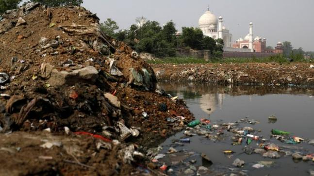 Polluted River in Agra