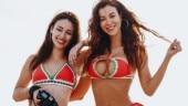 Upside down bikini is the latest trend on Instagram.